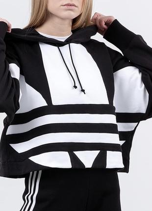 Cropped hoodie adidas оригинал