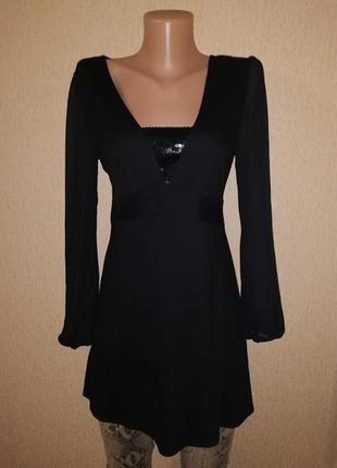 Красивая черная женская кофта, джемпер marks & spencer