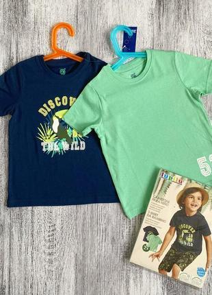 Набор ярких котоновых футболок4 фото