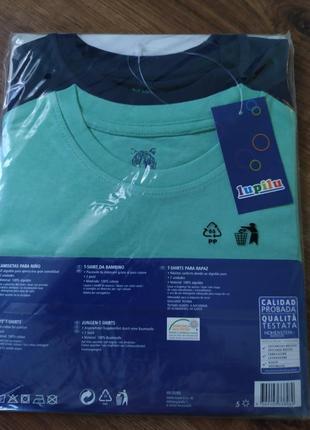 Набор ярких котоновых футболок3 фото