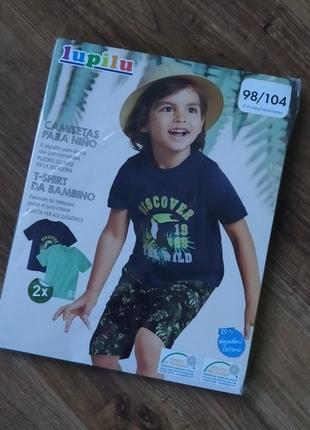 Набор ярких котоновых футболок1 фото