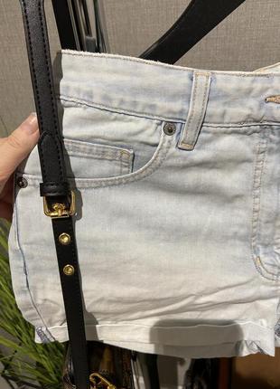 Крутые высокие джинсовые фирменные шорты next2 фото