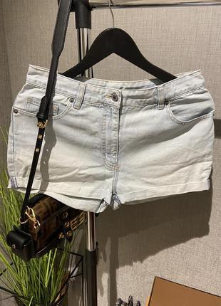 Крутые высокие джинсовые фирменные шорты next