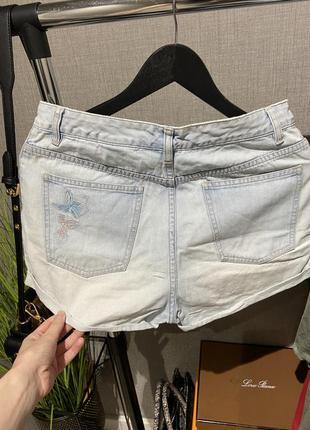 Крутые высокие джинсовые фирменные шорты next4 фото