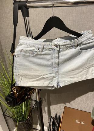 Крутые высокие джинсовые фирменные шорты next9 фото