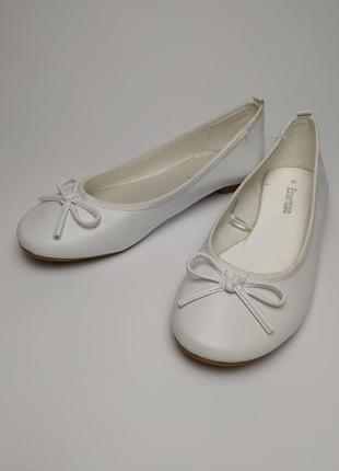 Туфли тапочки новые белые легкие летние р 5