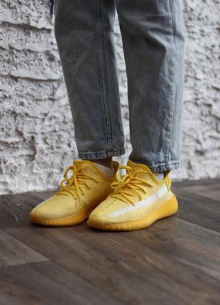 Кроссовки yeezy boost 350 yellow