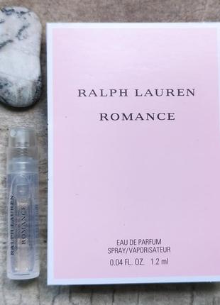 Пробник ralph lauren romance