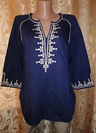 ✨✨✨красивая женская блузка, кофта с вышивкой monsoon✨✨✨