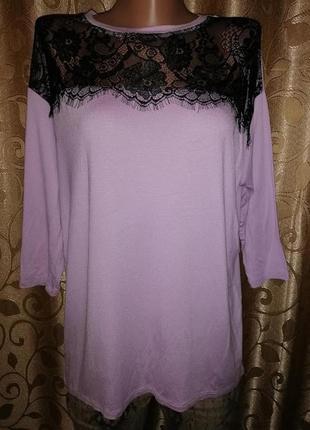 🌺🌺🌺красивая женская трикотажная кофта, блузка с кружевом, гипюром tu🌺🌺🌺