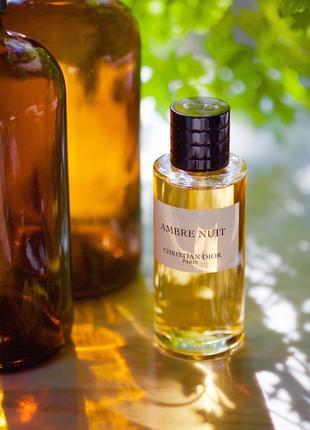 Christian dior ambre nuit оригинал_eau de parfum 3 мл затест