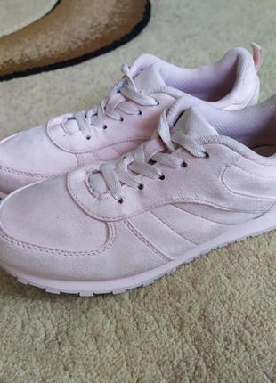 Замшевые кроссовки primark