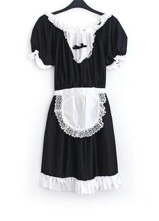 Платье-костюм горничной