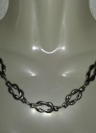 Цепочка ожерелье украшение на шею