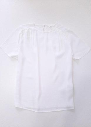 Блузка из жатой вискозы h&m р.38 165/88а
