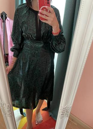 Красивейшее платье шелк diane von furstenberg