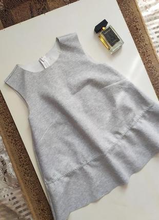 Плотная блуза с необработанными краями / дизайнерская майка / топ / воланы рюши
