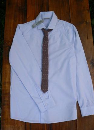 Рубашка с галстуком next школа на 11 лет.