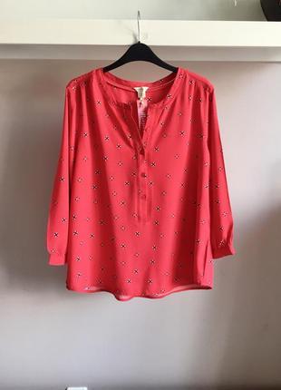 Натуральная коралловая блуза