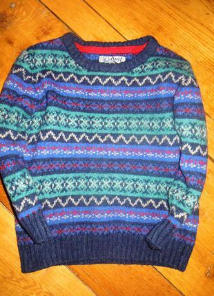 Вязаный свитер на мальчика tu 98 рост