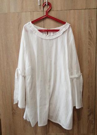 Блуза рубашка германия 2xl-3xl