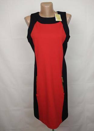 Платье футляр новое трикотажное шикарное с карманами оригинал michael kors m