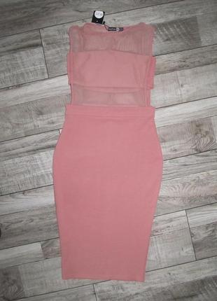 Красивенное платье boohoo uk р. 10