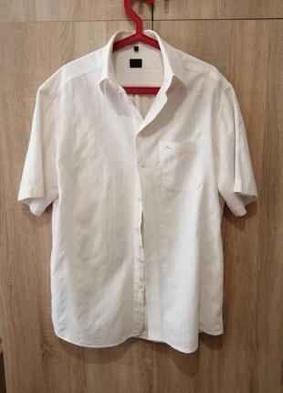 Мужская шведка рубашка хлопок l