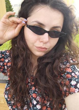 Топ солнцезащитные очки / актуальная форма / сонцезахисні окуляри / ретро