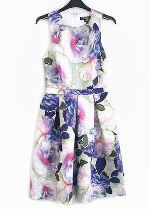 Очень красивое платье-миди с пышной юбочкой