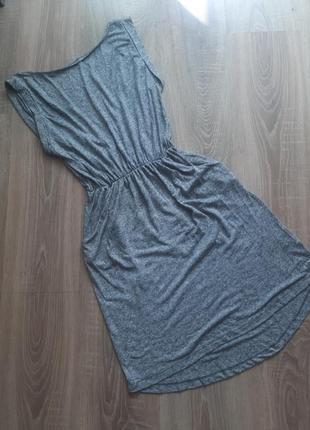 Літнє плаття сіре жіноче