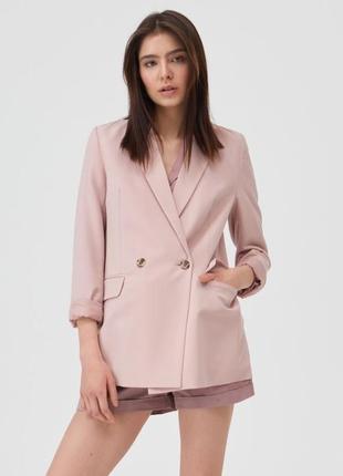 Mohito новый пиджак прямой овэрсайз