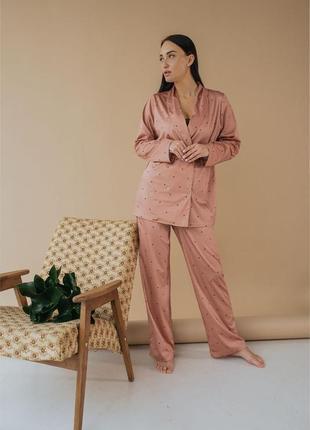 Домашний костюм: штаны и рубашка