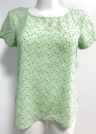 Блуза promod в мелкий цветочек