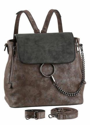 Laura scott женская сумка-рюкзак