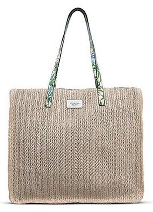 Victoria's secret сумка соломенная оригинал сумки с америки