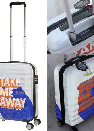 American tourister чемодан ручная кладь лимитка