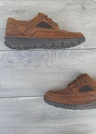 Clarks мужские кожаные туфли/кроссовки оригинал 42р