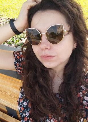 Солнцезащитные очки кошечки / сонцезахисні окуляри / кішки ретро