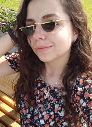 Ретро солнцезащитные очки / сонцезахисні окуляри