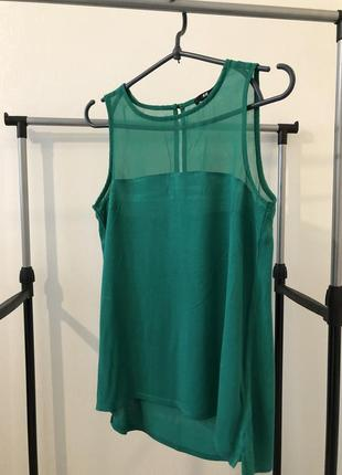 Продам летнюю блузу изумрудного цвета