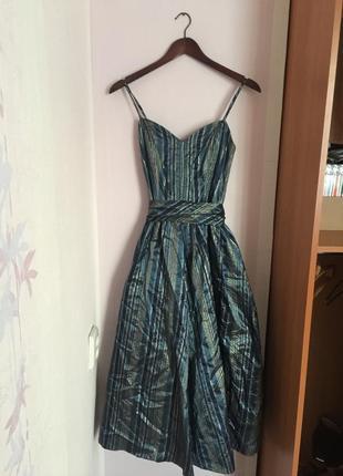 Винтажные платье винтаж віниажна сукня вінтаж миди