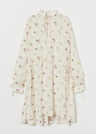 Туника-трапеция платье h&m trend p.xs