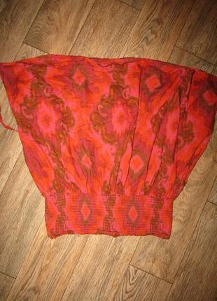 Свободная блузочка туника р-р л-хл или беременным