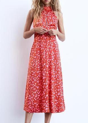 Гарна довга витончена сукня від італійськоі🇮🇹🇮🇹🇮🇹🇮🇹зара