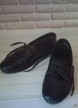 Кожаные туфли кеды7 фото