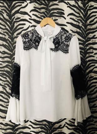 Красивая стильная блуза, блузка, рубашка.s-m