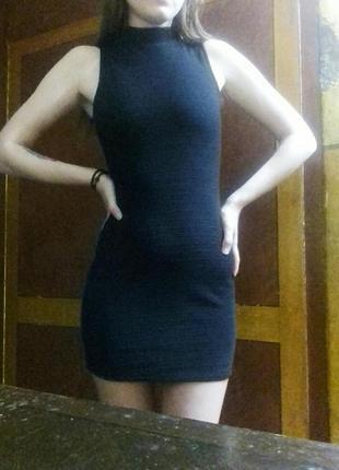 Черное платье new look