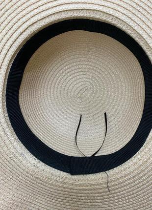 Шляпа с широкими полями 100 % папір3 фото