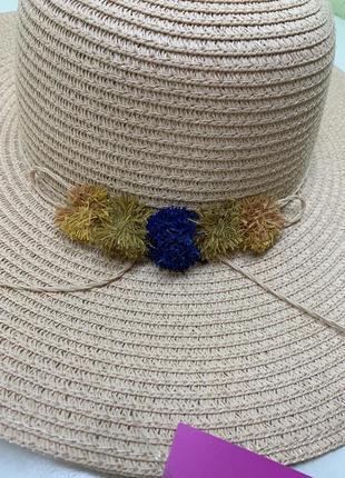Шляпа с широкими полями 100 % папір